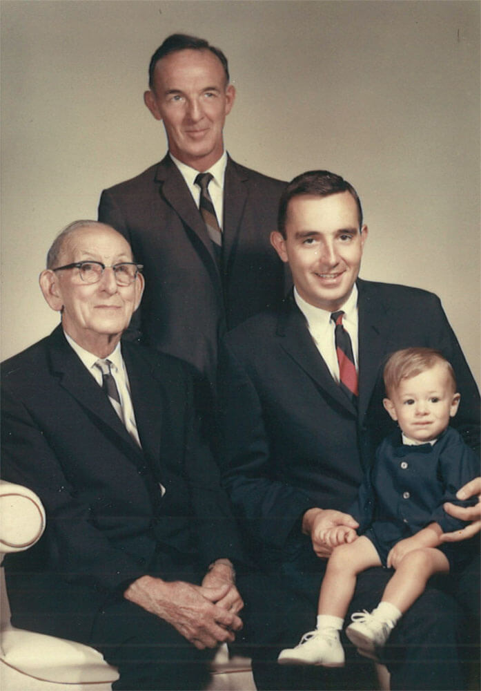 Norton family photo 1964