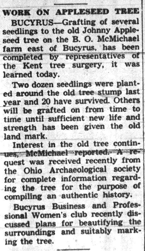 McMichael Farm_Mansfield News Journal_April 2_1938 pg 5