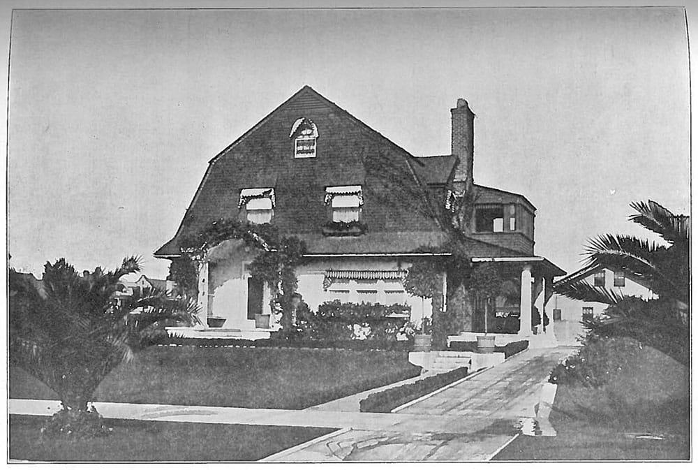 Orra Monnette's Los Angeles home